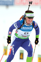MALI Andreja of Slovenia during the 10 km pursuit of the e.on Ruhrgas IBU Biathlon World Cup on Friday December the 12th, 2009 in Hochfilzen - PillerseeTal, Austria. The second e.on Ruhrgas IBU World Cup stage is taking place in Hochfilzen - PillerseeTal, Austria until Sunday the 13th of December.  (Photo by Pierre Teyssot / Sportida.com)