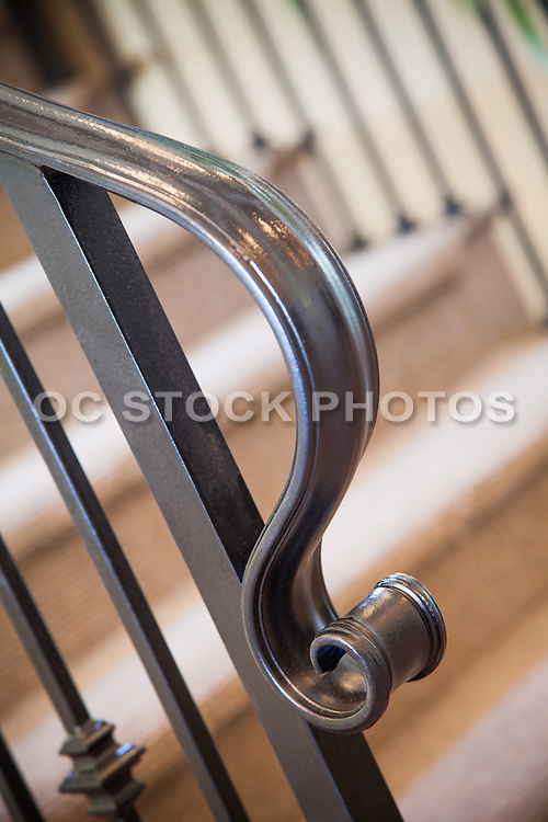 Wrought Iron Interior Stair Case Railing
