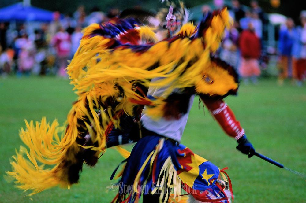 A Choctaw pow-wow celebration - Choctaw, Mississippi.