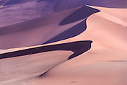 Desert sand dune Photographed in China