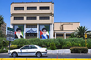 Iran's supreme leader controls everything from Iran's nuclear program to full authority over foreign policy. He is a commander-in-chief of the armed forces and the provisional head of the three branches of the state (the Judiciary, the Legislature, and the Executive). His face overlooks public squares, offices, hallways and private rooms.