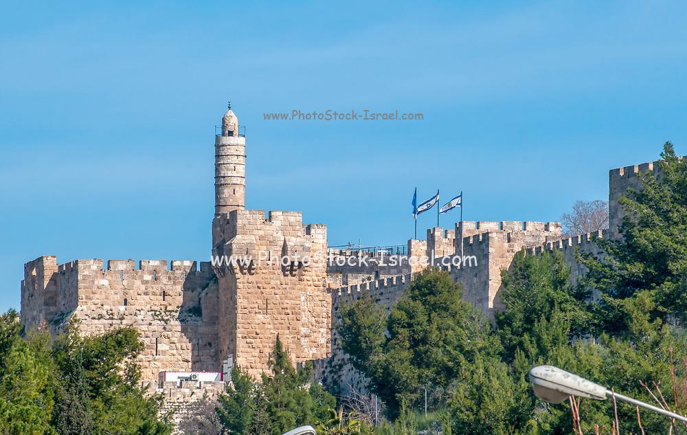 Tower of David, Old City, Jerusalem, Israel