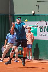 June 2, 2018 - Paris, França - PARIS, IF - 02.06.2018: ROLAND GARROS 2018 - Jamie Murray (ING) in a match valid for the 2018 Roland Garros tournament held in Paris, IF. (Credit Image: © Andre Chaco/Fotoarena via ZUMA Press)