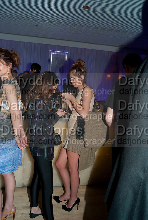 DASHA ZHUKOVA; , An evening at Sanderson to celebrate 10 years of Sanderson, in aid of Clic Sargent. Sanderson Hotel. 50 Berners St. London. W1. 27 April 2010 *** Local Caption *** -DO NOT ARCHIVE-© Copyright Photograph by Dafydd Jones. 248 Clapham Rd. London SW9 0PZ. Tel 0207 820 0771. www.dafjones.com.<br /> DASHA ZHUKOVA; , An evening at Sanderson to celebrate 10 years of Sanderson, in aid of Clic Sargent. Sanderson Hotel. 50 Berners St. London. W1. 27 April 2010