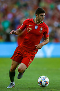 Portugal midfielder Conclamo Guedes (17) during the UEFA Nations League match between Portugal and Netherlands at Estadio do Dragao, Porto, Portugal on 9 June 2019.