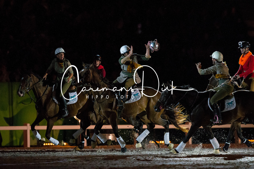 Opening Ceremony, Horse-Ball<br /> Alltech FEI World Equestrian Games™ 2014 - Normandy, France.<br /> © Hippo Foto Team - Leanjo de Koster<br /> 25/06/14