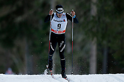 13.12.2014, Davos, SUI, FIS Langlauf Weltcup, Davos, 15 km, Herren, im Bild Jonas Baumann (SUI) // during Cross Country, 15km, men at FIS Nordic world cup in Davos, Switzerland on 2014/12/13. EXPA Pictures © 2014, PhotoCredit: EXPA/ Freshfocus/ Christian Pfander<br /> <br /> *****ATTENTION - for AUT, SLO, CRO, SRB, BIH, MAZ only*****