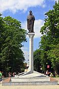 Kolumna Zygmunta II Augusta, Augustów, Polska<br /> Column of Zygmunt II Augustus, Augustów, Poland