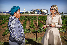 Queen Maxima Visits Ethiopia - 14 May 2019