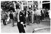 William L. Weber. Ascot. 1984© Copyright Photograph by Dafydd Jones 66 Stockwell Park Rd. London SW9 0DA Tel 020 7733 0108 www.dafjones.com<br /><br />© Copyright Photograph by Dafydd Jones 66 Stockwell Park Rd. London SW9 0DA Tel 020 7733 0108 www.dafjones.com