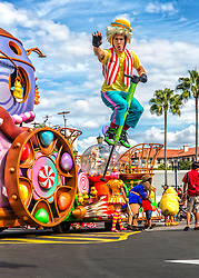 Pogo Jump Into The Sky in Skies Of Blue at Universal Studios Orlando