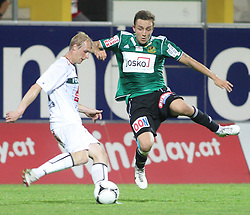10.05.2012, Keine Sorgen Arena, Ried, AUT, 1. FBL, FC Wacker Innsbruck, 34. Spieltag, im Bild Martin Svejnoha, (FC Wacker Innsbruck, #8) und Daniel Beichler, (SV Josko Ried, #25), during the Austrian Bundesliga Match, 34th Round, between SV Josko Ried and FC Wacker Innsbruck at the Keine Sorgen Arena, Ried, Austria on 20120510. EXPA Pictures © 2012, PhotoCredit: EXPA/ R. Hackl