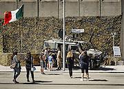 Esercito italiano all'interno della Fiera del Levante, Bari 12 settembre 2015. Christian Mantuano / OneShot