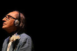 July 13, 2017 - The singer-songwriter, composer of classical and avant-garde music, filmmaker and painter Franco Battiato opens in the bullring of La Malagueta his tour of Spain, where he plans to do 5 more concerts around the country. Today he has started his tour in The city of Málaga before 1500 people. (Credit Image: © Fotos Lorenzo Carnero via ZUMA Wire)