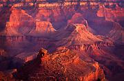 Dawn at the south rim of the Grand Canyon