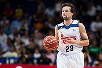 Real Madrid's player Sergio Llull during match of Liga Endesa at Barclaycard Center in Madrid. September 30, Spain. 2016. (ALTERPHOTOS/BorjaB.Hojas)