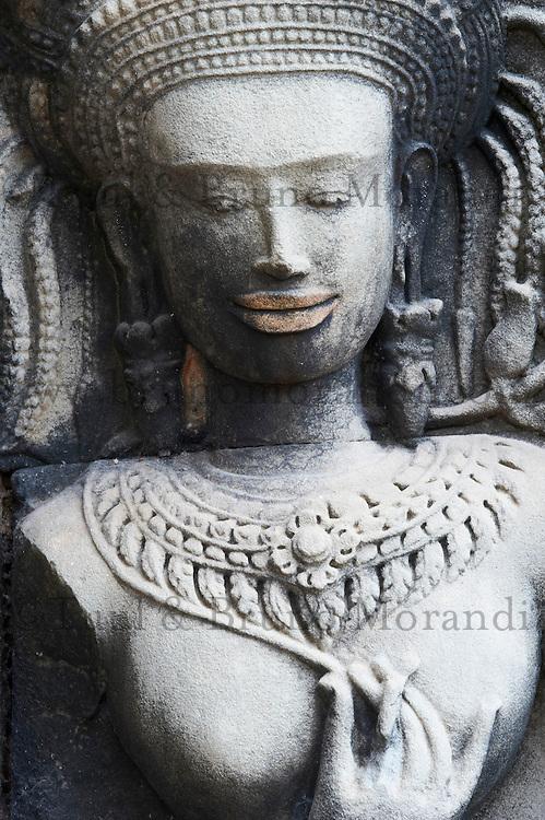 Asie du Sud Est, Cambodge, Province de Siem Reap, Angkor, complexe des temples de Angkor, Patrimoine Mondial de l'UNESCO en 1992, temple de Tommanon // Southeast Asia, Cambodia, Siem Reap Province, Angkor site, Unesco world heritage since 1992, Tommanon temple