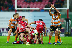 Kieran Hardy of Scarlets - Mandatory by-line: Dougie Allward/JMP - 02/11/2019 - RUGBY - Parc y Scarlets - Llanelli, Wales - Scarlets v Toyota Cheetahs - Guinness PRO14
