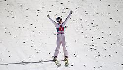 06.01.2013, Paul Ausserleitner Schanze, Bischofshofen, AUT, FIS Ski Sprung Weltcup, 61. Vierschanzentournee, Bewerb, im Bild Stefan Kraft (AUT) // Stefan Kraft of Austria during Competition of 61th Four Hills Tournament of FIS Ski Jumping World Cup at the Paul Ausserleitner Schanze, Bischofshofen, Austria on 2013/01/06. EXPA Pictures © 2012, PhotoCredit: EXPA/ Juergen Feichter