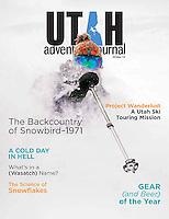 Cover of Utah Adventure Journal Winter 2014.