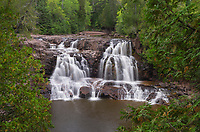 Upper Goosebury Falls, Goosebury Falls State Park Minnesota