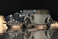 """This Mercedes 770 K Limousine was a new model of luxury that was introduced by the manufacturing company named """"MANnington"""". It has been developed under the supervision of the famous """"Bulldog"""" Thomas Benz. The model was introduced in the year 1938 and has so far been the most luxurious sedan of the world. The basic structure of the car consists of a body, cab, and engine compartment. Inside the body there are five luxurious leather seats, climate control, central locking and trunk with a host of technical options.<br /> <br /> The Mercedes 770 K Limousine was built for the purpose of transporting generals like Douglas MacArthur, who was the head of the USA military forces during the world war II. It was one of the very last cars to be manufactured by Mercedes Benz before the outbreak of the world war 2. Although this car did not make it to the combat zones, it served in the same manner as any other car by going on tours all around the world. This car has now been restored by specialized Mercedes car experts to be used in the same way as it was used in the war field. Now it can be safely transported around the world.<br /> <br /> It was due to this restoration project that the Mercedes 710 the most luxurious sedan of the world could be safely availed by any individual. This car is also a prized possession of those who belong to the nobility of various European countries. One of the reasons that it is considered to be the most luxurious sedan of the world is because it was manufactured by the best designers of the time and it has been kept in immaculate shape for the past seventy years. It is due to this restoration that this car enjoys a high resale value at the moment."""
