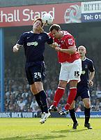 Photo: Olly Greenwood.<br />Southend United v Barnsley. Coca Cola Championship. 14/04/2007. Southend's Matt Harrold and Barnsley's Anthony Kay