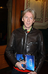 Milliner PHILIP TREACY at the press night of Cirque Du Soleil's 'Alegria' held at the Royal Albert, London on 5th January 2006.<br /><br />NON EXCLUSIVE - WORLD RIGHTS