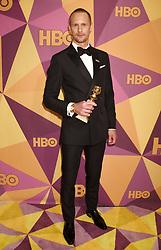 "Lena Dunham and Jennifer Konner at HBO's ""Golden Globe Awards"" After Party held at the Beverly Hilton Hotel on January 7, 2018 in Beverly Hills, CA. Janet Gough/AFF-USA.com. 07 Jan 2018 Pictured: Alexander Skarsgard. Photo credit: MEGA TheMegaAgency.com +1 888 505 6342"