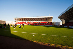 Broadwood Stadium, also referred to as simply Broadwood, is a football stadium and multi-use community sports complex situated in Cumbernauld, North Lanarkshire, Scotland. It is the home venue of Scottish Third Division side, Clyde F.C.