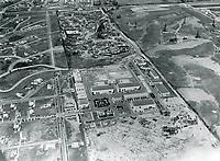 1930s Aerial photo of Fox Movietone Studios in West Los Angeles