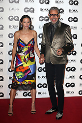 GQ Men of The Year Awards at Tate Modern in London, UK. 05 Sep 2018 Pictured: Emilie Livingston and Jeff Goldblum. Photo credit: Fred Duval/MEGA TheMegaAgency.com +1 888 505 6342