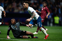 March 22, 2019 - Madrid, MADRID, SPAIN - Cristian Pavon of Argentina scoring a goal during the international friendly football match played between Argentina and Venezuela at Wanda Metropolitano Stadium in Madrid, Spain, on March 22, 2019. (Credit Image: © AFP7 via ZUMA Wire)