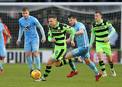 Forest Green Rovers Dayle Grubb on the ball