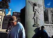 Cemetery gate on the altiplano outside La Paz