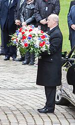 © Licensed to London News Pictures. 02/05/2014 Funeral of  Legendary Scottish Footballer Sandy Jardine took place at Mortonhall Crematorium today. Edinburgh, Scotland Photo credit : Duncan McGlynn/LNP