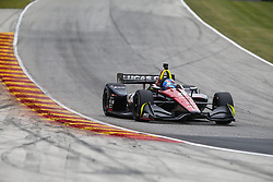 June 22, 2018 - Elkhart Lake, Wisconsin, United States of America - ROBERT WICKENS (6) of Canada takes to the track to practice for the KOHLER Grand Prix at Road America in Elkhart Lake, Wisconsin. (Credit Image: © Justin R. Noe Asp Inc/ASP via ZUMA Wire)