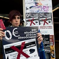 Manifestazione contro il caro vita