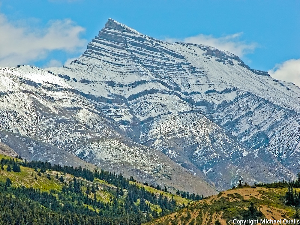 Peak at the Icefields Centre.