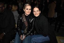 Stylist Maria Grazia Chiuri and her daughter Rachele Regini attend the Giambattista Valli Ready to wear Fall/Winter 2018-19 at Palais de Tokyo in Paris, France on March 5, 2018. Photo by Laurent Zabulon/ABACAPRESS.COM
