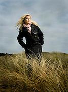 Swedish singer Jessica Andersson for Volkswagen.<br /> Photo Ola Torkelsson<br /> Copyright Ola Torkelsson ©