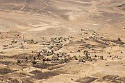 """Mcc0081437 . Daily Telegraph<br /> <br /> DT Foreign<br /> <br /> The frontline in the Fardah mountains overlooking the village of Al Hatem on the road to Sanaa approximately 120 km from the Government held town of Marib .<br /> <br /> Yemen has been in the midst of a civil war since 2015 when the President Abdrabbuh Mansur Hadi was forced to flee . A Saudi led coalition with 9 other Arab states  named """"Operation Decisive Storm """"  has since sought to restore Hadi with little effect .<br /> <br /> <br /> Yemen 22 February"""