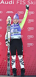 22.01.2011, Tofana, Cortina d Ampezzo, ITA, FIS World Cup Ski Alpin, Lady, Cortina, Abfahrt, im Bild Maria Riesch (GER, #18, Platz 1) // Maria Riesch (GER, place 1) during FIS Ski Worldcup ladies Downhill at pista Tofana in Cortina d Ampezzo, Italy on 22/1/2011. EXPA Pictures © 2011, PhotoCredit: EXPA/ J. Groder
