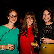 NLD/Amsterdam/20131014 -  Marie Claire Starters Award 2013, Marvie Rieder en …..