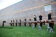 The Oregon Marching Band competes in Fort Atkinson, Wisconsin on June 25, 2010.