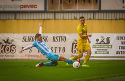 8# Tamar Svetlin of NK Domzale during the match of 6. Round, 1.st Slovenian National Football League between NK Domzale and ND Gorica, on 03.10.2020 in Domzale, Slovenia. Photo by Urban Meglič / Sportida