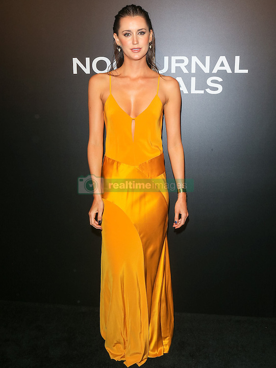 Celebrities are seen attending the special screening of Focus Features' 'Nocturnal Animals' at the Hammer Museum in Los Angeles. 11 Nov 2016 Pictured: Bianca Booth. Photo credit: Bauer Griffin / MEGA TheMegaAgency.com +1 888 505 6342