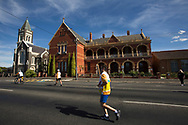 Batonbearer Tim Kearney carrying the Baton as the Queen's Baton Relay travelled to Ararat. From 25 January to 2 March 2018, the Queen's Baton will visit every other state and territory before Queensland. As the Queen's Baton Relay travels the length and breadth of Australia, it will not just pass through, but spend quality time in each community it visits, calling into hundreds of local schools and community celebrations in every state and territory. The Gold Coast 2018 Commonwealth Games (GC2018) Queen's Baton Relay is the longest and most accessible in history, travelling through the Commonwealth for 388 days and 230,000 kilometres. After spending 100 days being carried by approximately 3,800 batonbearers in Australia, the Queen's Baton journey will finish at the GC2018 Opening Ceremony on the Gold Coast on 4 April 2018.