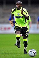 Football<br /> Carlisle United v Oldham Athletic, Carling Cup Round One, Brunton Park. Reuben Hazell (Oldham Athletic)<br /> 11/08/2009. Credit Colorsport / Darren Blackman