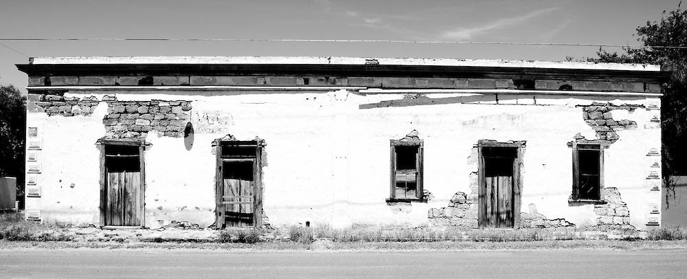 An old building in San Ignacio, Lower Rio Grande Valley, Texas